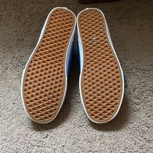 Gently used Blue Vans